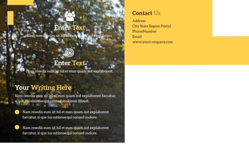 Dog Training Postcard Template Preview 3