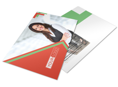 Marketing Conference Postcard Template