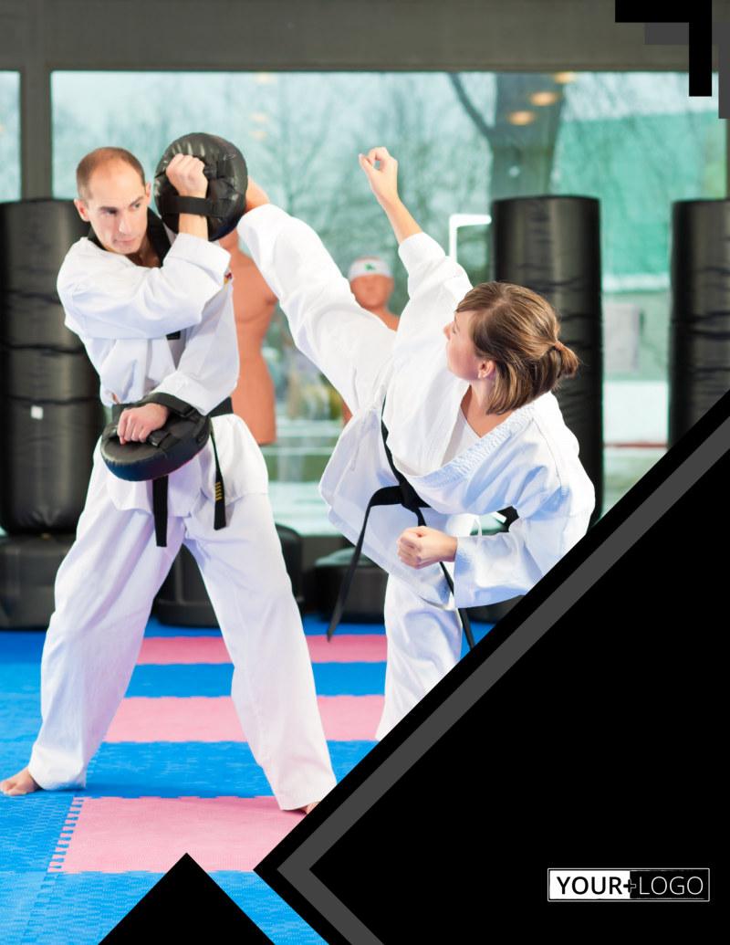 Martial Arts Studio Flyer Template Preview 2