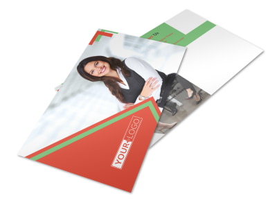 Marketing Conference Postcard Template 2