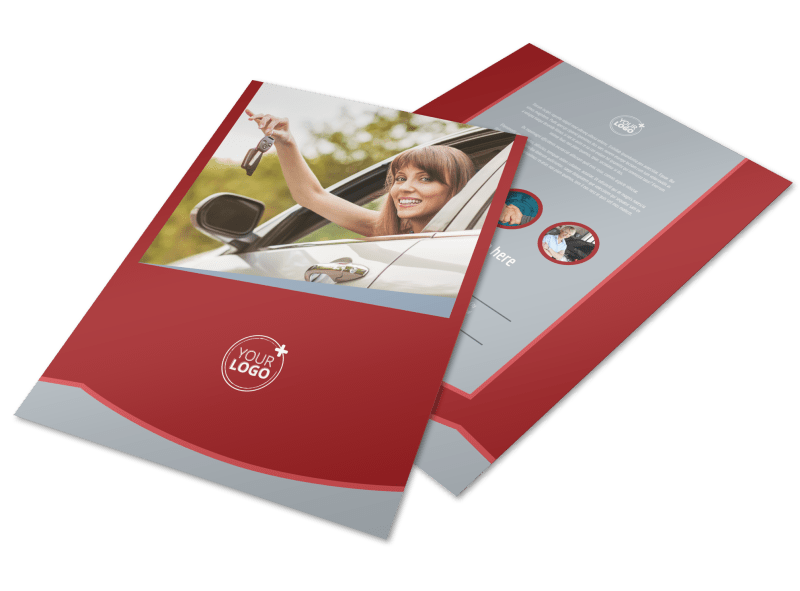 Used Car Dealer Flyer Template Preview 1