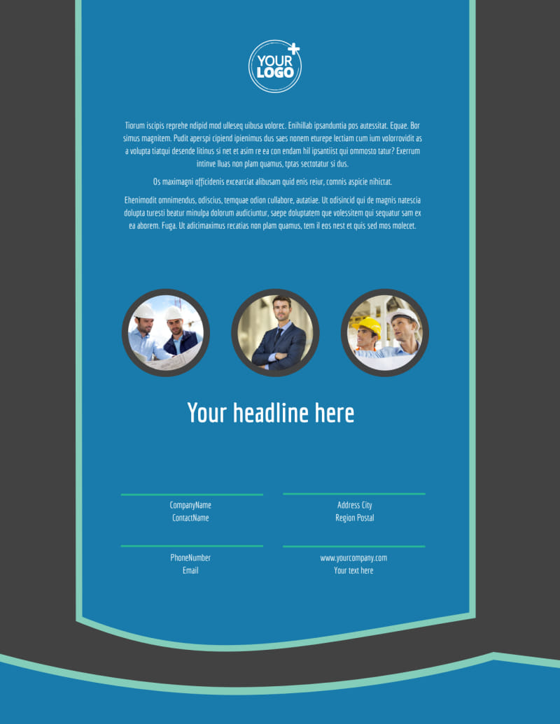Architecture & Design Firm Flyer Template Preview 3