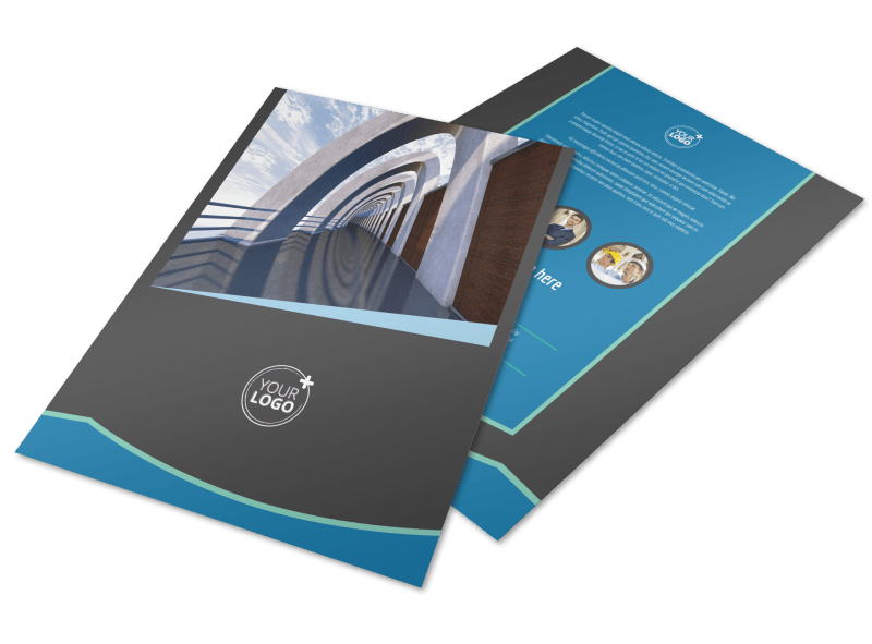 Architecture & Design Firm Flyer Template Preview 1