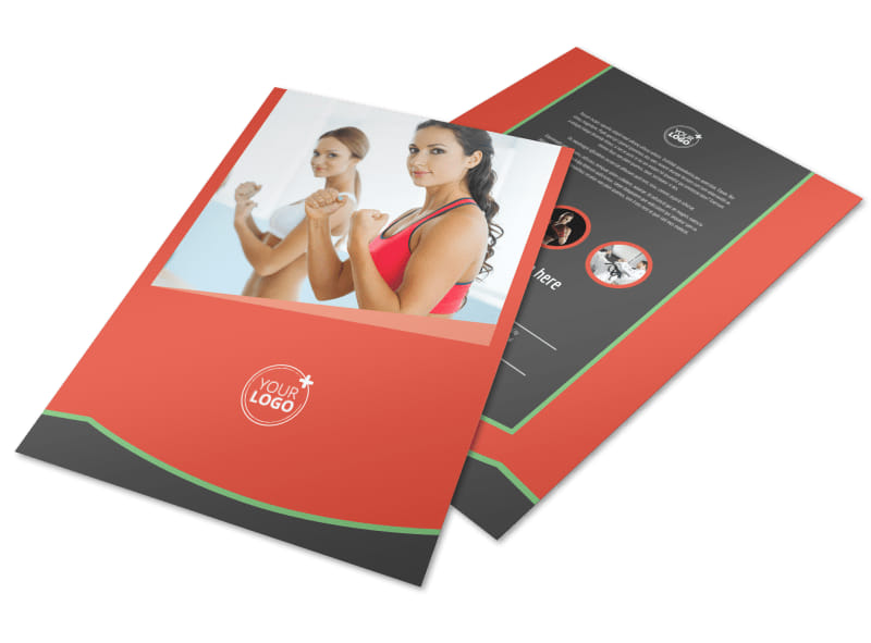 Self Defense Class Flyer Template Preview 4