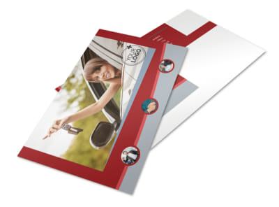 Used Car Dealer Postcard Template 2 preview