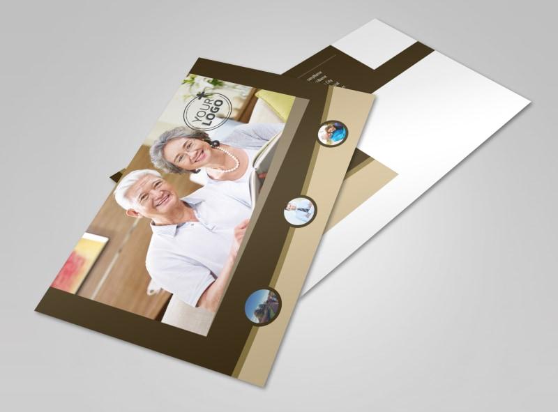 Retirement Advice Postcard Template 2