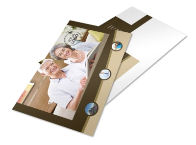 Retirement Advice Postcard Template 2 preview