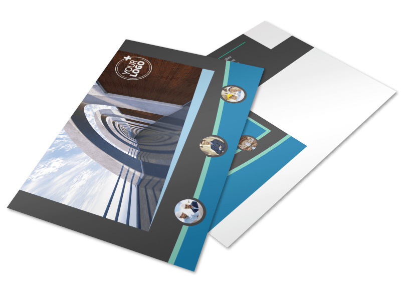 Architecture & Design Firm Postcard Template Preview 1
