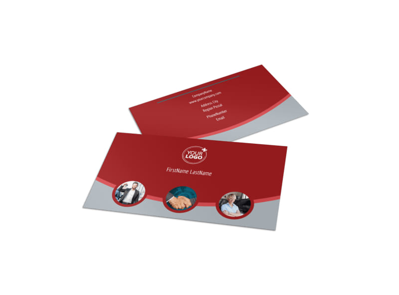 Used Car Dealer Business Card Template