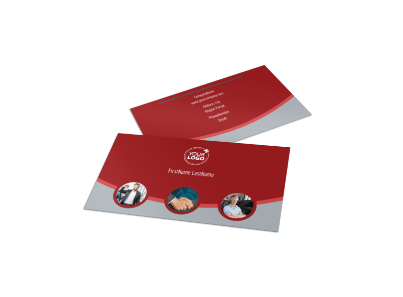 Used Car Dealer Business Card Template Preview 1