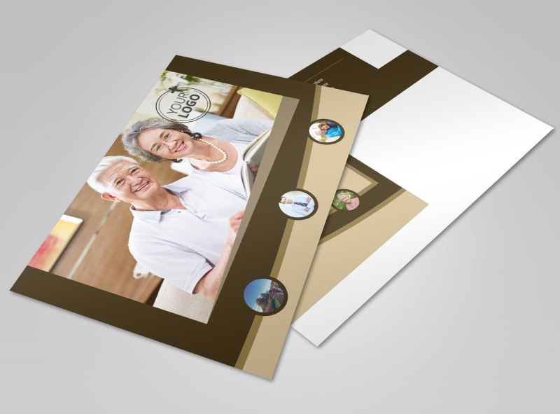 Retirement Advice Postcard Template
