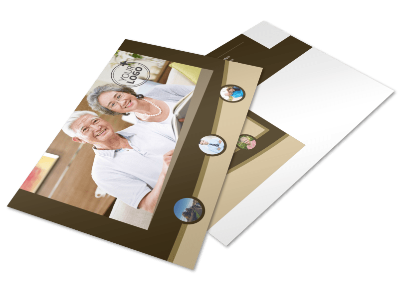 Retirement Advice Postcard Template Preview 1