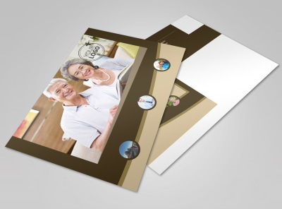 Retirement Advice Postcard Template preview