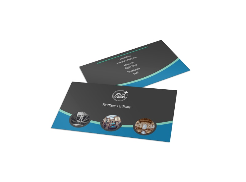 Architecture & Design Firm Business Card Template Preview 4