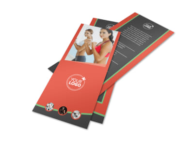Self Defense Class Flyer Template 2