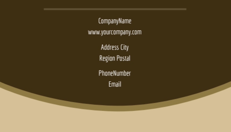 Retirement Advice Business Card Template Preview 3