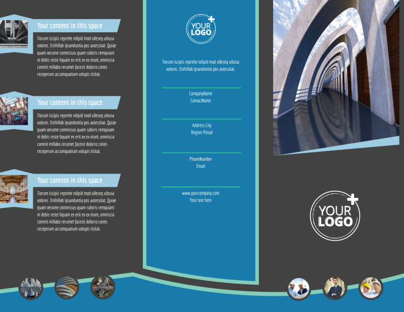 Architecture & Design Firm Brochure Template Preview 2