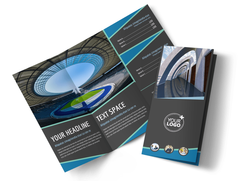 Architecture & Design Firm Brochure Template Preview 1
