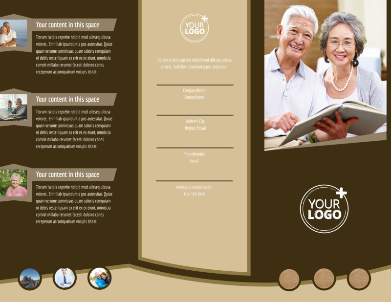 Retirement Advice Brochure Template Preview 2
