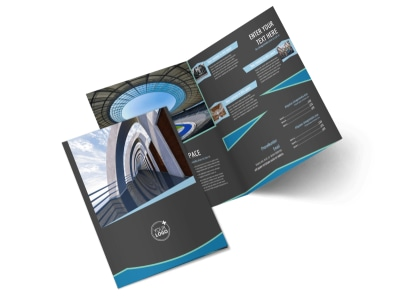 Architecture & Design Firm Bi-Fold Brochure Template 2 preview