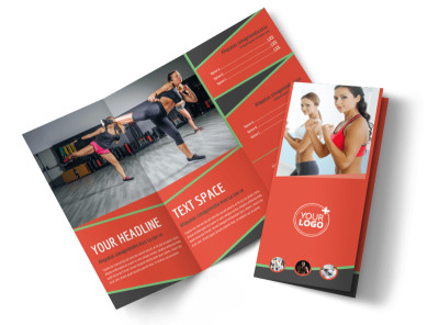 Self Defense Class Tri-Fold Brochure Template