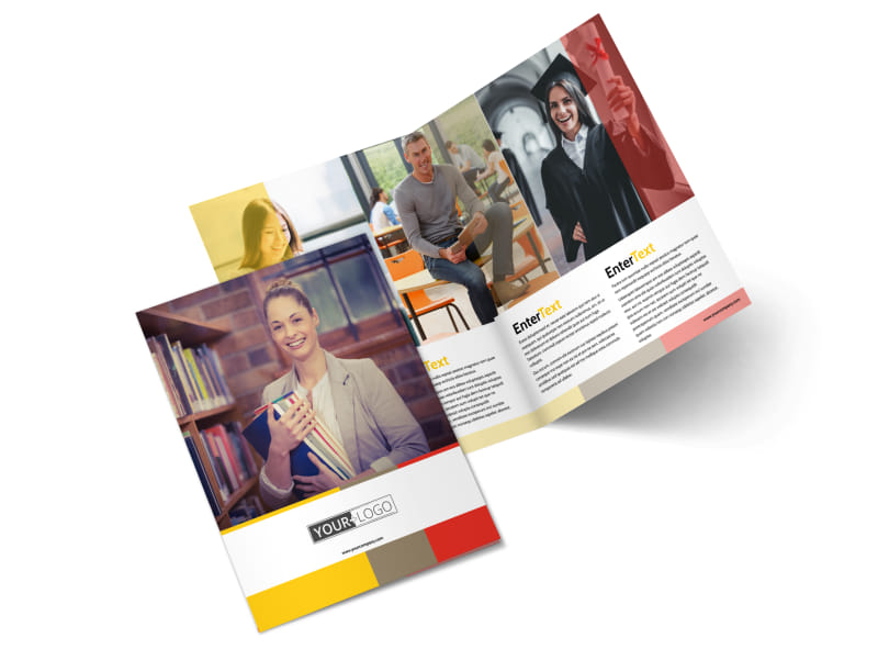 Adult Education Brochure Template 2
