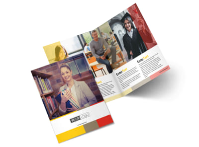 Adult Education Brochure Template 2 preview