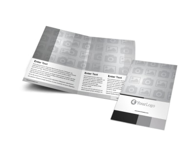 Generic Bi-Fold Brochure Template 5619