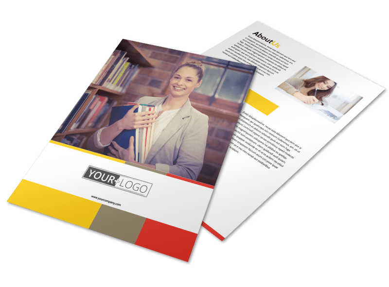 Adult Education Flyer Template Preview 1