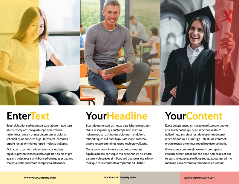 Adult Education Brochure Template Preview 3