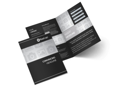 Generic Bi-Fold Brochure Template 6615
