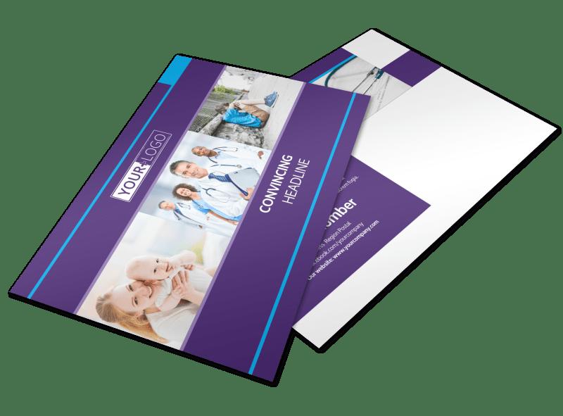 Pediatric Care Postcard Template Preview 1