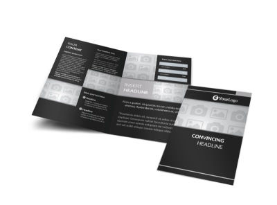 Generic Bi-Fold Brochure Template 6619