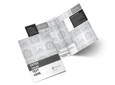 Generic Bi-Fold Brochure Template 6624