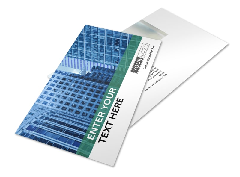 Commercial Real Estate Postcard Template 2