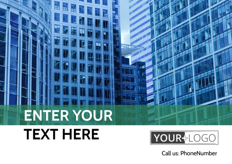 Commercial Real Estate Postcard Template Preview 2