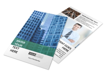 Commercial Real Estate Flyer Template 3