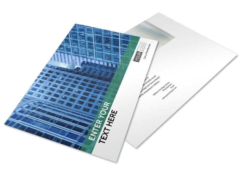 Commercial Real Estate Postcard Template