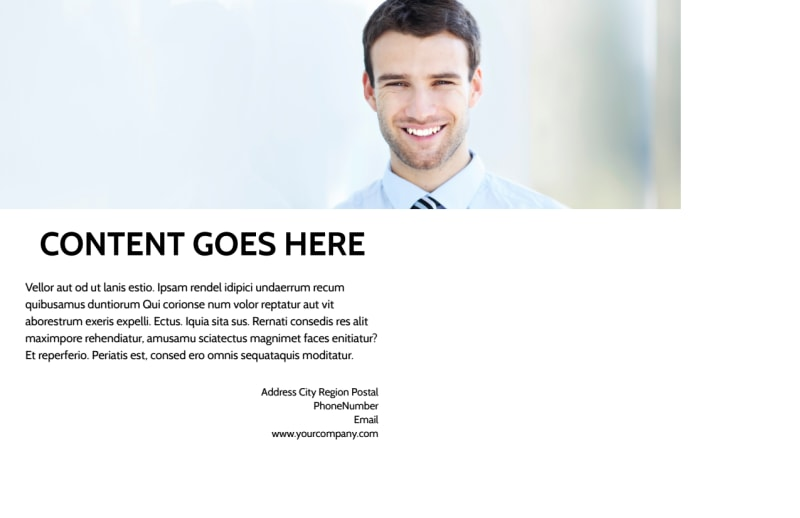 Commercial Real Estate Postcard Template Preview 3