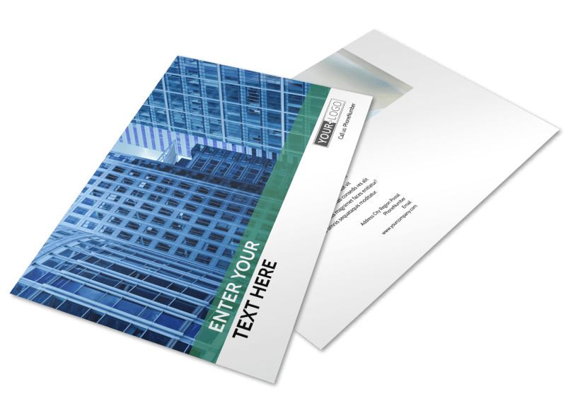 Commercial Real Estate Postcard Template Preview 1