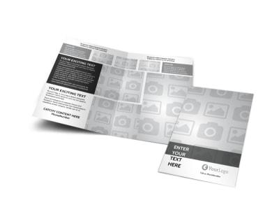 Generic Bi-Fold Brochure Template 6628