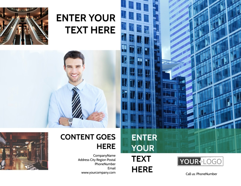 Commercial Real Estate Brochure Template Preview 2