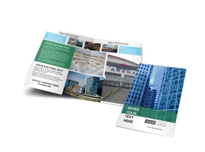 Commercial Real Estate Bi-Fold Brochure Template