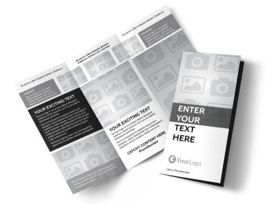 Generic Tri-Fold Brochure Template 6630