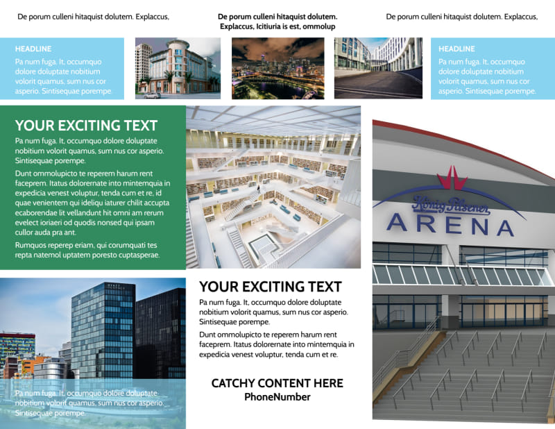 Commercial Real Estate Brochure Template Preview 3