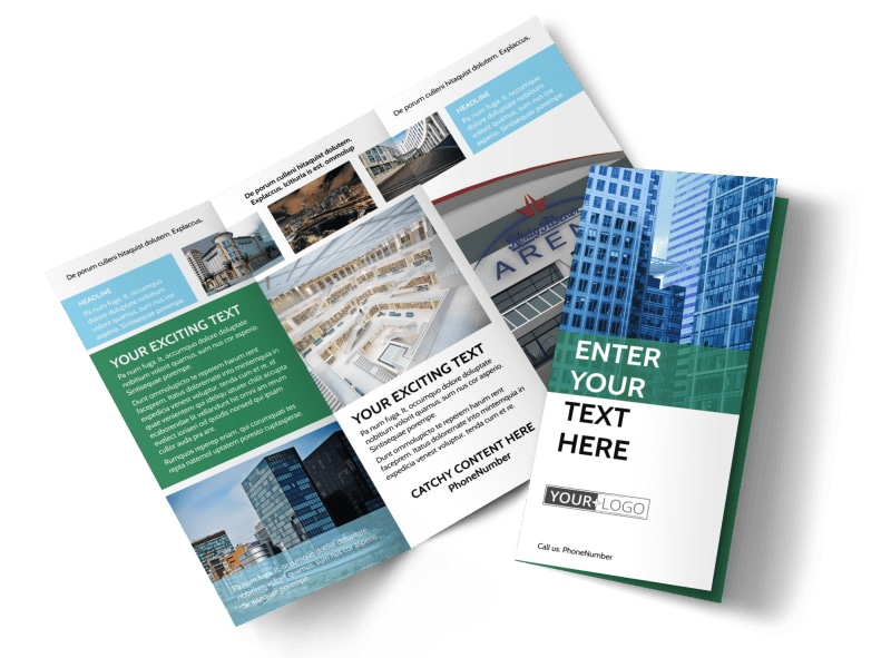 Commercial Real Estate Brochure Template Preview 4