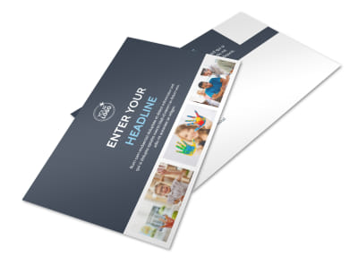 Disabled Children Services Postcard Template 2