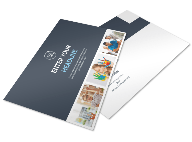 Special Education Postcard Template Preview 1