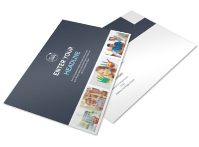 Disabled Children Services Postcard Template
