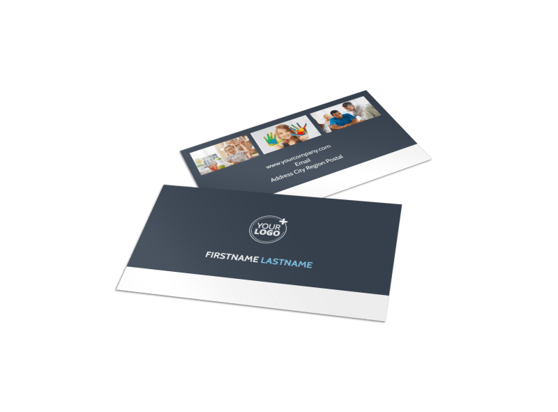 Special Education Business Card Template Preview 1
